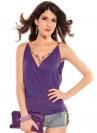 Фиолетовый топ с ожерельем (1067)
