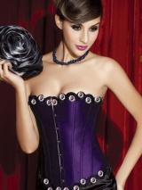 Роскошный фиолетовый корсет (1444)